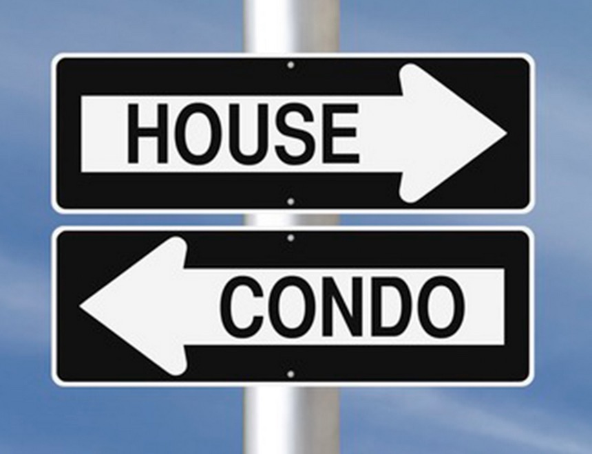 house and condo signage